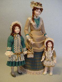 DECADES OF DAUGHTERS 1880 by Debbie DP, via Flickr