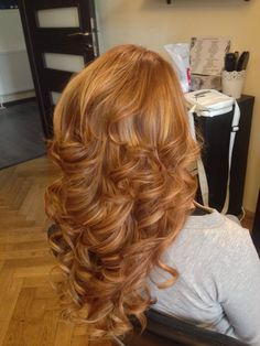 1 Corinthians for Big Curls For Long Hair, Long Red Hair, Super Long Hair, Braids For Black Hair, Long Curly Hair, Big Hair, Hair Color And Cut, Ombre Hair Color, Layered Curly Hair
