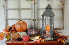 anderson + grant: Decorating My Living Room for Fall