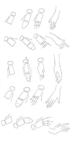 Learn the logic of drawing hands and apply it to different view angles in your fashion sketches and illustrations