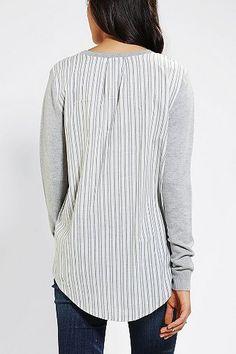BDG Stripe-Back Sweater