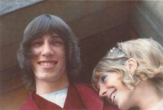 Roger Waters and Ex-wife Judy Trim, 1969 Pink Floyd More, 70s Rock Bands, Best Oysters, Nick And Judy, Just Beautiful Men, David Gilmour, Ex Wives, Celebrity Couples, Vintage Pictures