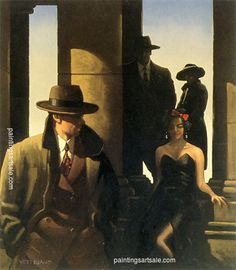 Jack Vettriano Ghosts From The Past