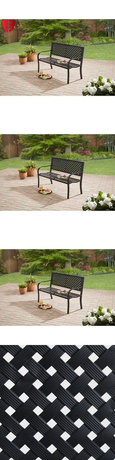 Benches 79678: Outdoor Bench Park Patio Furniture Porch Seating Chair  Garden Wood Deck Yard  U003e BUY IT NOW ONLY: $50.13 On EBay! | Benches 79678 |  Pinterest