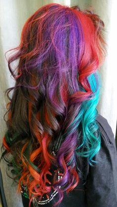 Crazy colors palette stefanos&fratzeskos coiffure