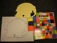 Simple and fun Elmer the Elephant craft... can do from 2-7 years old!