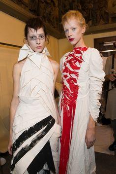 Aganovich at Paris Fashion Week Spring 2017 - Backstage Runway Photos