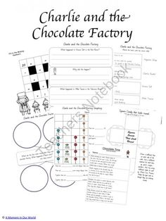Charlie & The Chocolate Factory Teaching Resources | Chocolate ...