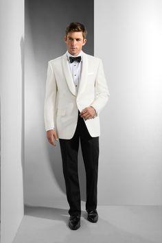Men's White Shawl Dinner Jacket | Tuxedos for Men and Women