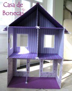 Casa de Bonecas da Ro: Casa Letícia