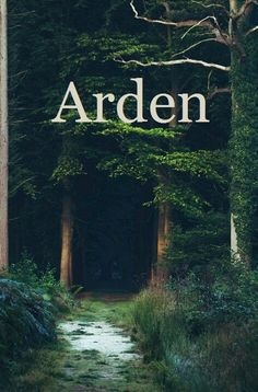 Arden - girls or boys name meaning Great Forrest.