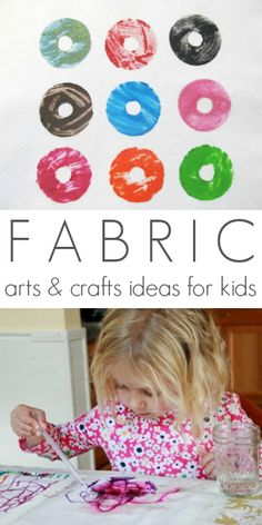 Kids Fabric Arts and Crafts Ideas