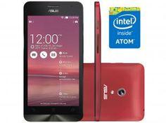 "Smartphone Asus ZenFone 5 8GB Dual Chip 3G - Câm. 8MP Tela 5"" Proc. Intel Dual Core Android 4.3"