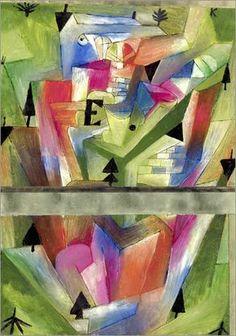 Paul Klee - Landscape at E.