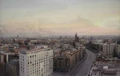 The best Spanish realistic painter. Oil on canvas. Urban Landscape, Landscape Art, Landscape Paintings, Landscapes, Eloy Morales, Antonio Garcia, Garcia Lopez, Spanish Heritage, Urban Painting