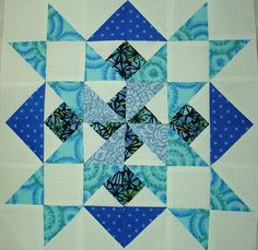 p and b Star Sampler Quilt Along Block 9 by Happy 2 Sew, via Flickr