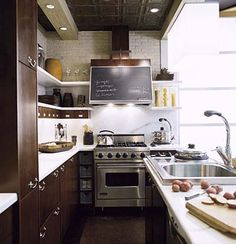 Thousands of ideas about galley kitchens on pinterest for Galley kitchen storage solutions