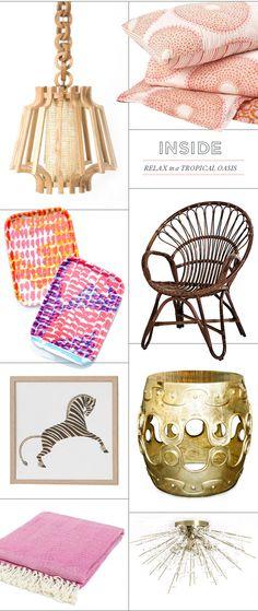 Our Hennie Chair on @Joy Cho / Oh Joy!'s Tropical Oasis feature!