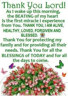 Thank you lord As I Wake Up This Morning good morning good morning quotes good morning sayings morning blessings good morning image quotes thank you lord Sunday Morning Prayer, Powerful Morning Prayer, Good Morning Friends Quotes, Morning Prayer Quotes, Good Morning Inspirational Quotes, Blessed Sunday, Inspirational Prayers, Good Morning Happy, Morning Greetings Quotes