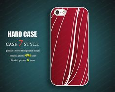 unique  iphone 5 case red Iphone 4 covers 4 case by case7style, $6.98
