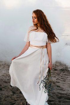 noni Bridal Tops: kombinierbare Vielfalt SANDRA HÜTZEN http://www.hochzeitswahn.de/inspirationsideen/noni-bridal-tops-kombinierbare-vielfalt/ #wedding #dress #bride