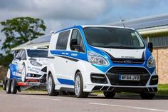 M-Sport Ford Transit Custom Panel Van + Crew Van