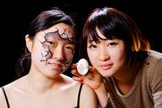 Artist Hikaru Cho for MBMR campaign.