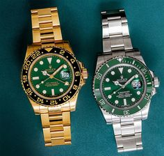 Saint Patrick's Day is fast approaching, which means that we'll be happily rocking our green Rolex watches this weekend!In addition to special occasions, however, you can wear green Rolex watches pretty much any time of