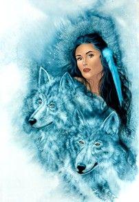 """Guardians"" - Traci Rabbit (Cherokee artist)"