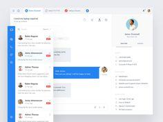 Customer messaging app