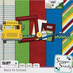 free digi scrapbook kit back to school Scrapbook Kit, School Scrapbook, Scrapbook Pages, Free Digital Scrapbooking, School Daze, Page Layout, Layouts, Back To School, Road Trip