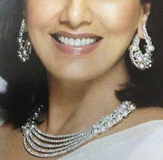 Diamonds 3 Piece Set with Pearls