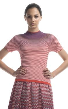 Degradé Knit Top by Missoni for Preorder on Moda Operandi