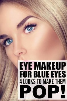Whether you're a rocking brunette with an olive skin tone or have blonde hair and fair skin, prefer a more natural, everyday look or opt for a more dramatic 'do, there are certain makeup shades and techniques you should master to learn how to apply makeup for blue eyes. We've broken it all down for you, including great and affordable product recommendations!