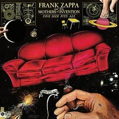 Vinyl Frank Zappa - One Size Fits All, Universal, 2015 Frank Zappa, George Duke, Jazz, 9 Songs, Vinyl Lp, Vinyl Junkies, Music Album Covers, Music Licensing, Album Book