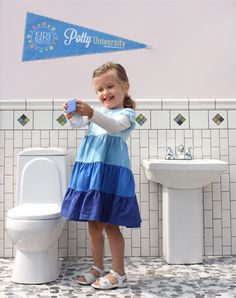 Kids Toilet Children Bathroom Loo Potty Training Bear