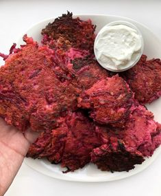 I made these latkes while experimenting with different types of veggie latkes for an article for another website. You guys loved them so much though, that I couldn't not share them on my own website too. Part of the reason that I love these latkes is because they don't stray too far from a...