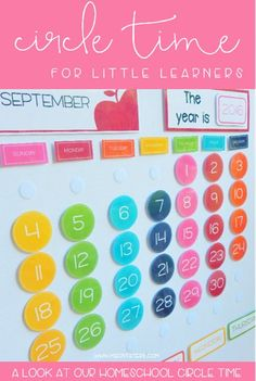 Circle Time for Toddlers, Elementary & Homeschool