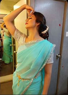 Beautiful Blonde Girl, Beautiful Girl Indian, Most Beautiful Indian Actress, Beautiful Women, Indian Natural Beauty, Indian Beauty Saree, Indian Sarees, Indian Tv Actress, Indian Actresses