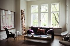 Berlin Apartment Eclectic Inspired Living Room