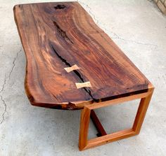 Petrified Wood Slab Coffee Table huntersalley Hunters Alley picks