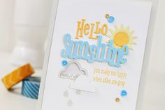 Stamp Away With Me: Wplus9 February 2015 Release - Sending Sunshine