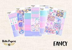 Full Kit - Fancy - Erin Condren Vertical - Planner Stickers