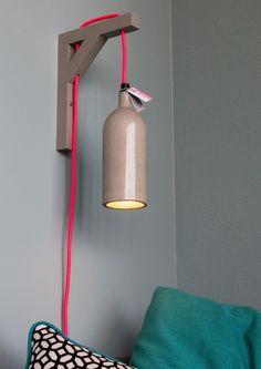 DIY IKEA shelfstandard wall lamp