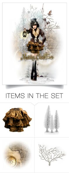"""""""Steampunk Winter - Merry Christmas"""" by fm3happy ❤ liked on Polyvore featuring art"""