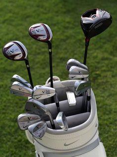 "January 15, 2013: ""14 Nike sticks ready for #Rors. @McIlroyRory,"" reported Nike Golf from Abu Dhabi, where he debuted as a Nike brand ambassador."