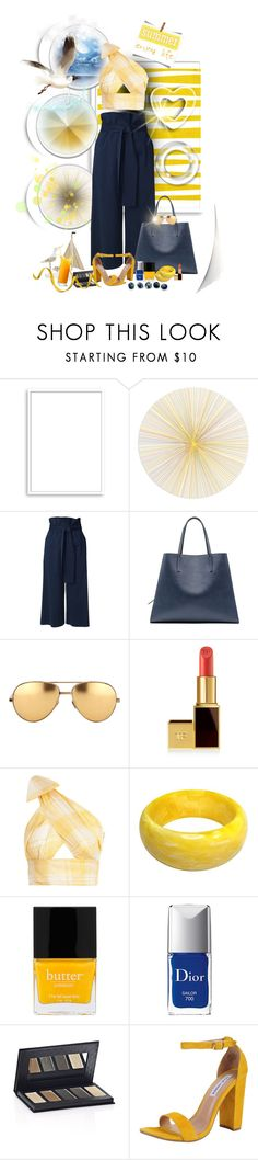 """elizabethcarter2003summer"" by ntina36 ❤ liked on Polyvore featuring Bomedo, Tisch New York, TIBI, Marni, Linda Farrow, Tom Ford, CO, Christian Dior, Borghese and Steve Madden"