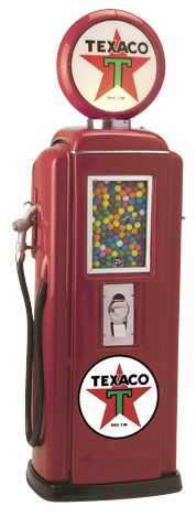 Tokheim 39 Texaco Gas Pump Gumball Machines | Gas Pump Vending Machine