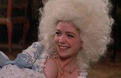 "Actress Elizabeth Berridge as Constanze Mozart, in the movie ""Amadeus"" (1984) was born on May 2,1962"