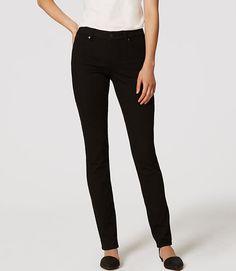 Image of Petite Curvy Straight Leg Jeans in Black